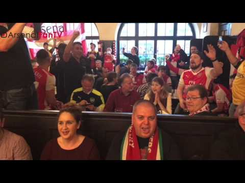 Bayern Munich vs Arsenal | Gooners Munich Pub Takeover!!