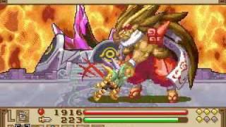 Summon Night - Swordcraft Story 2 {Final Boss} Guren Goura
