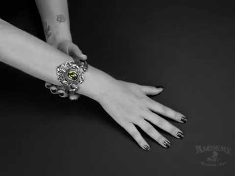 Alchemy Gothic Betrothal Bracelet q029r