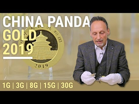 CHINA PANDA GOLD 2019: 1g, 3g, 8g, 15g und 30g