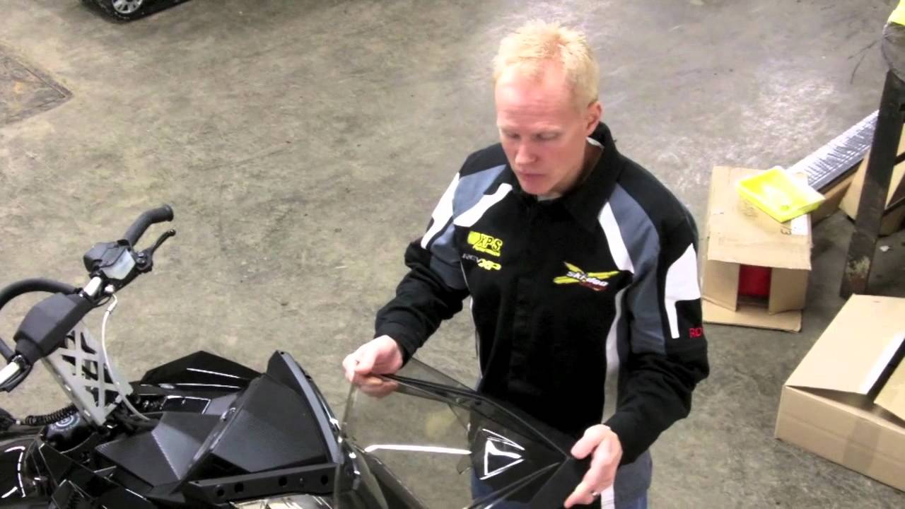 Ski Doo Mountain Windshields How To Install Youtube Wiring Diagram 2009 Summit 550f Premium