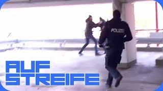 Verfolgungsjagd im Parkhaus: Polizei verfolgt aggressiven Mann! | Auf Streife | SAT.1