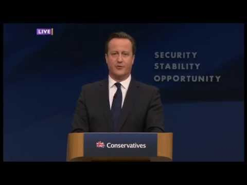 David Cameron on Equality of Opportunity (2015)