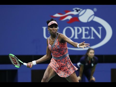2017 US Open: Venus Williams Takes First Set After Being Down 1-3