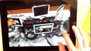 Magic Lens - augmented reality for product presentations
