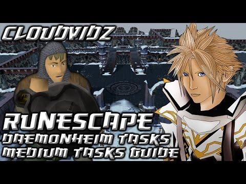 Runescape Daemonheim Medium Tasks Guide HD