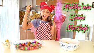 Melikenin Slime Mutfağı! Eğlenceli Slime Videosu