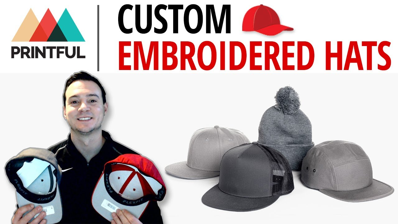 Printful Custom Embroidered Hats ⭐ Tips From A 5-Figure Seller