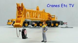 YCC Liebherr LTM 1400 Mobile Crane Luffing Fly Jib by Cranes Etc TV