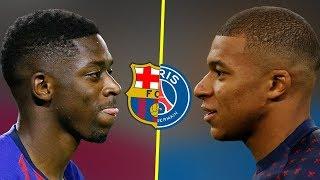 Kylian Mbappe VS Ousmane Dembele - Who Is The Best Talent? - Amazing Goals & Skills - 2018
