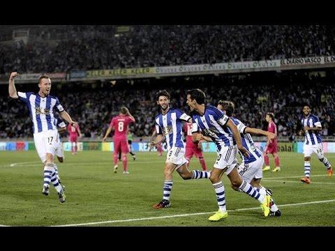 Real Sociedad 4-2 Real Madrid Goles COPE Liga BBVA 31/08/2014