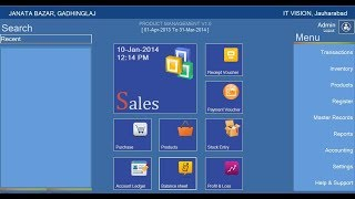 Pos with financial accounting available source code. by: www.itvision.com.pk technology: c#, .net, ms sql database