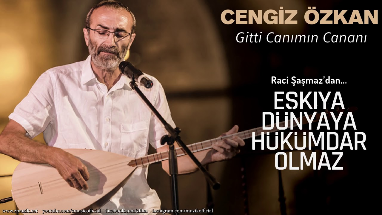 Cengiz Özkan - Gitti Canımın Cananı [ Eşkıya Dünyaya Hükümdar Olmaz © 2018 Z Müzik ]