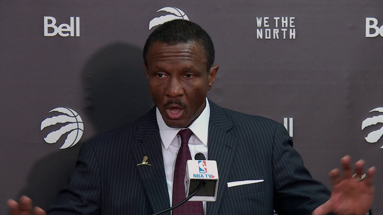 Raptors Post-Game: Dwane Casey - December 17, 2017 - YouTube