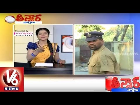 Bithiri Sathi Funny Conversation With Savitri On TS Police Recruitment   Teenmaar News