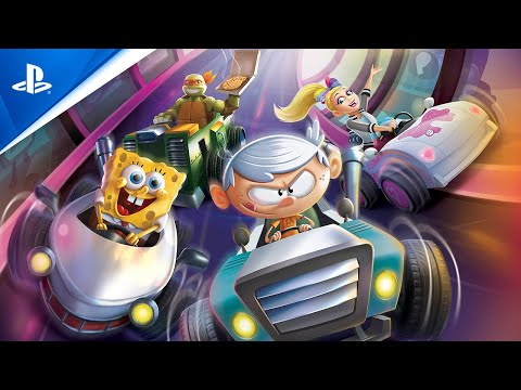 Nickelodeon Kart Racers 2: Grand Prix - Announce Trailer | PS4