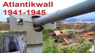 WW2 Relikte Teil 98 : Atlantikwall in Norwegen Teil 2/4 (Wehrmacht, Waffen SS)