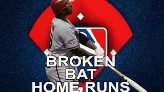 MLB: Broken-Bat Home Runs