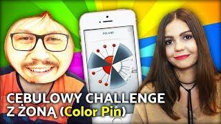 CEBULOWY CHALLENGE Z ŻONĄ (Color Pin)