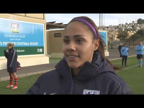 Scott on Scott: Alex Scott interviews Alex Scott post match England Women vs Norway 1-1