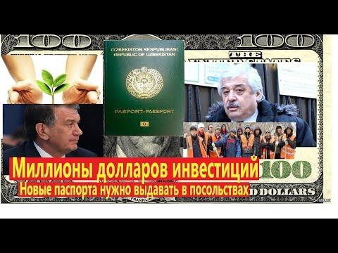 Новые паспорта нужно выдавать в посольствах! Миллионы долларов