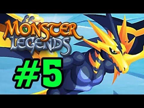 Monster Legend - Thế Giới Quái Vật - RỒNG SẤM SÉT Tập 5