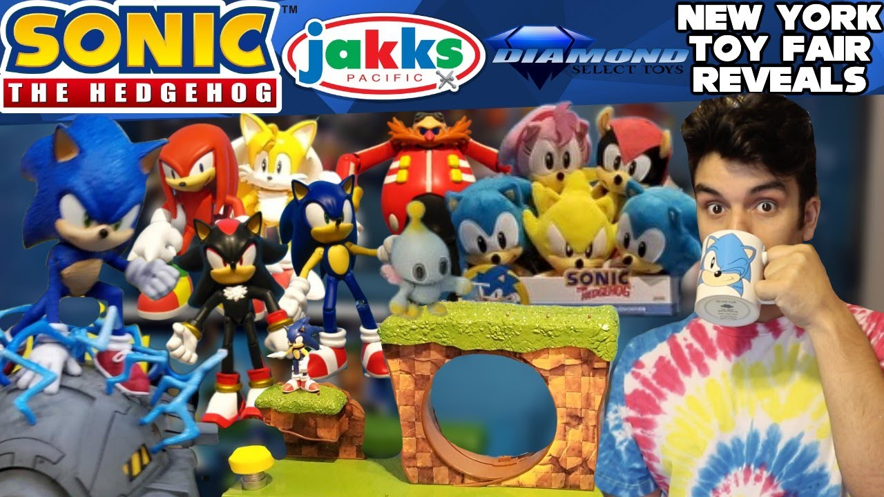 Sonic The Hedgehog Jakks Pacific Diamond Select Toys Merch