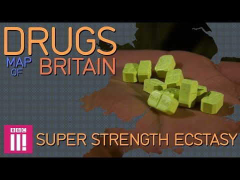Super Strength Ecstasy: Newcastle   Drugs Map of Britain