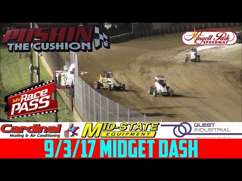 Angell Park Speedway - 9/3/17 - Midgets - Dash