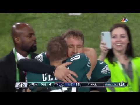 Eagles win Super Bowl Rocky style.
