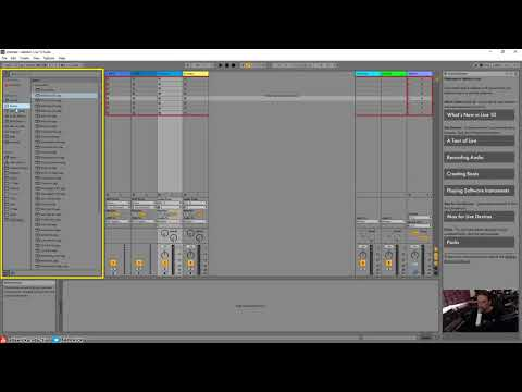 Ableton Live 10 Ultimate Tutorial 03 - UI overview