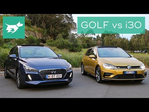 2018 Hyundai i30 vs 2018 Volkswagen Golf Comparison Review
