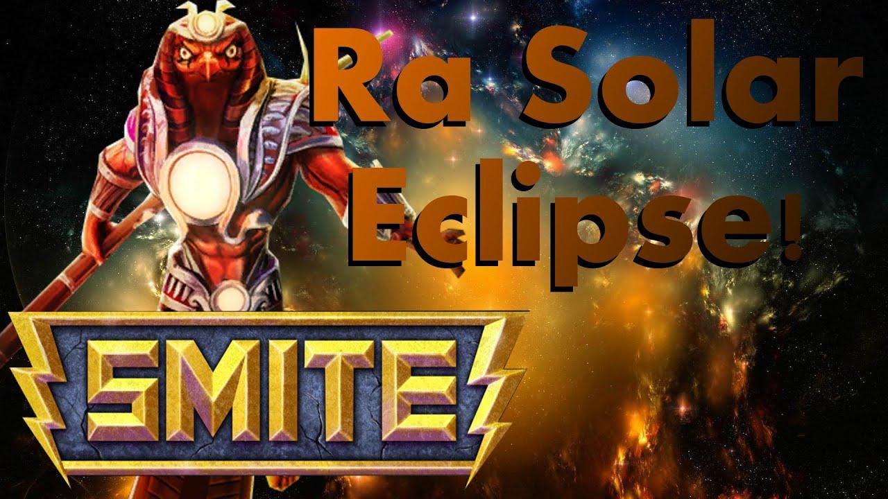 Smite How To Unlock Ra Solar Eclipse Skin Free Youtube