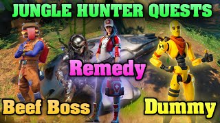 Fortnite: Talk with Beef Boss, Remedy, and Dummy!!! - (All Locations) & Mysterious Pod Location!!!