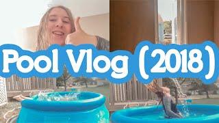 Pool Vlog ~ Kaitlyn Bossé-Jaillet Vlogs