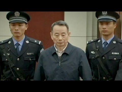 China: Former energy sector leader pleads guilty to corrupti