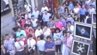 ancora i Cock ó drills alla festa dei Navigli- Milano1991