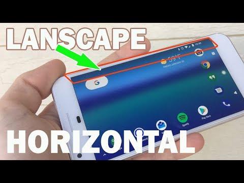 Cara Memutar Layar Android Menjadi Landscape, Horizontal Sepenuhnya Ni Sob..