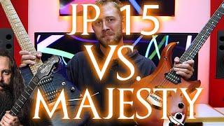JP15 vs. MAJESTY: Ernie Ball Music Man Petrucci Signature Shootout