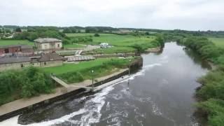 Naburn Lock, York - June 2016 AMAZING 1080P DRONE FOOTAGE