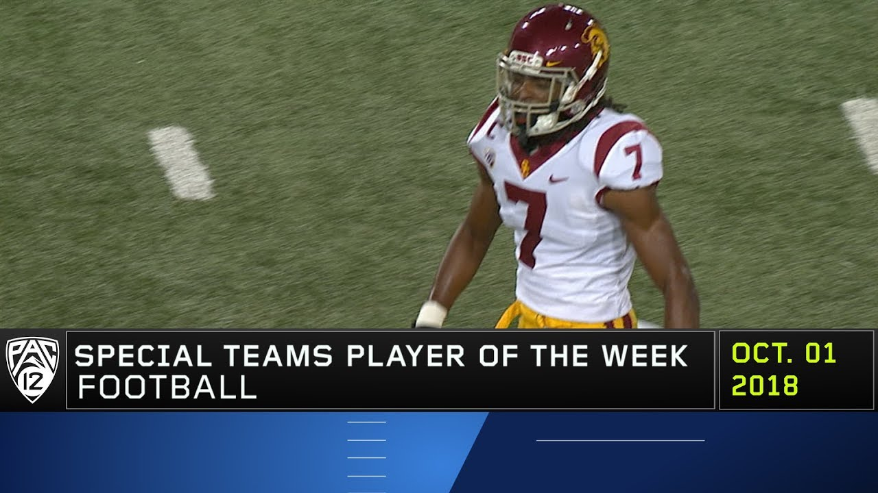 sneakers for cheap e85c5 7a2e7 USC's Marvell Tell III named Pac-12 Football Special Teams Player of the  Week