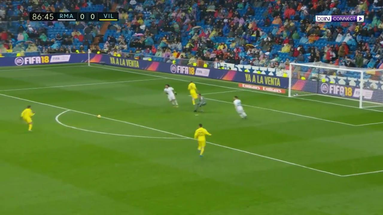 Real Madrid Vs Villarreal (1-0) ريال مدريد ضد فياريال