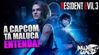 A Capcom Ficou LOUCA? MUDANÇAS INCRIVEIS Na História De Resident Evil 3 Remake! ENTENDA...