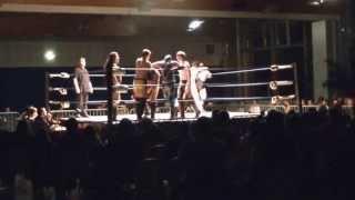 Catch Périgord - 30.03.13 - Tag Team Survivor Series 4 vs 4 - St Junien thumbnail