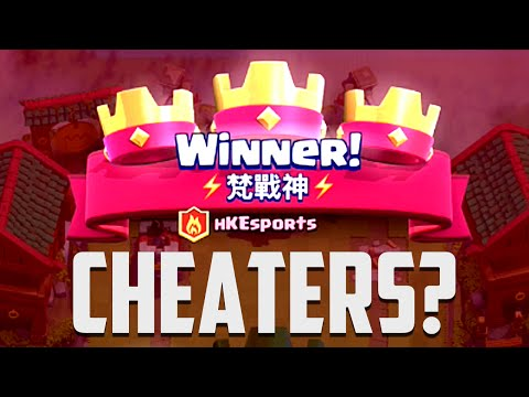 Clash Royale - CHEATING on TV Royale?