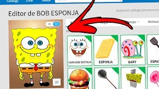 I CREATE AN ACCOUNT TO SPONToISE BOB WITHIN ROBLOX! In Spanish!