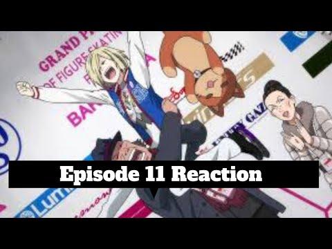 Yuri on ice Blind Reaction Episode 11 English Dubbed + Recap