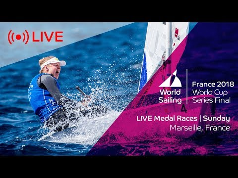LIVE  Sailing's World Cup Series Final Marseille  Medal Races  Sunday 10th June
