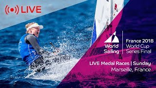 Live | sailing's world cup series final marseille | medal races | sunday 10th june
