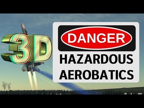 Su-27 More Hazardous Aerobatics (3D / Stereoscopy / SBS)